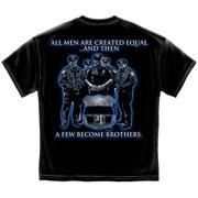 Police Brotherhood Law Enforcement T-shirt , Black