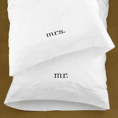 Hortense B. Hewitt 38915 Together Mr & Mrs Pillowcases