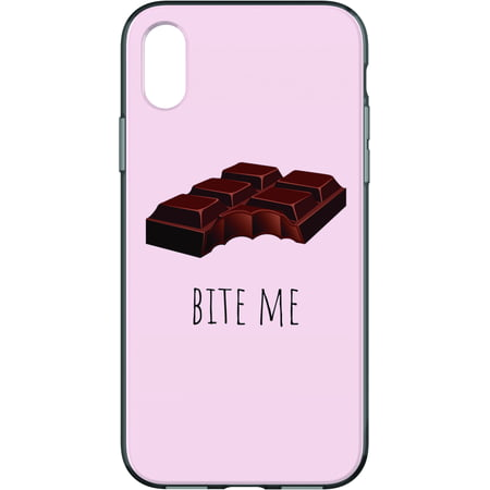 Scent Case Pack (Chocolate Scented Bite Me Phone Case For iPhone X & iPhone Xs )