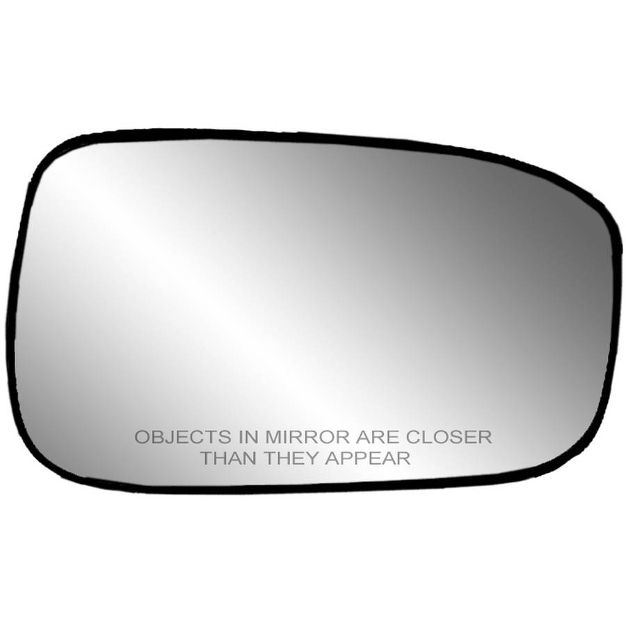 Fit System 33205 Toyota Camry Sedan Left Side Heated Power Replacement Mirror Glass with Backing Plate
