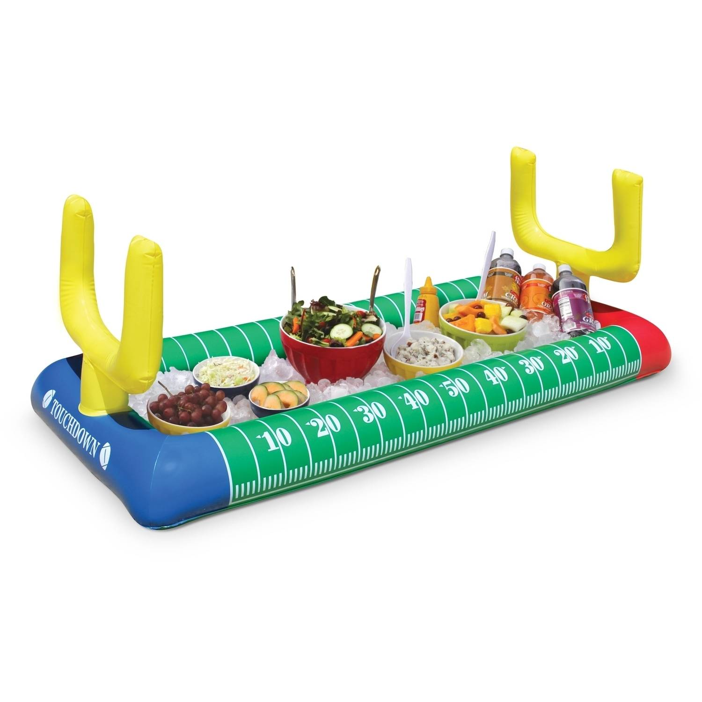 BigMouth Inc Giant Football Stadium Inflatable Salad Bar