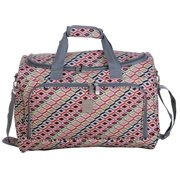 Jenni Chan  Tiles 17-inch Fashion Carry-On City Duffel Bag
