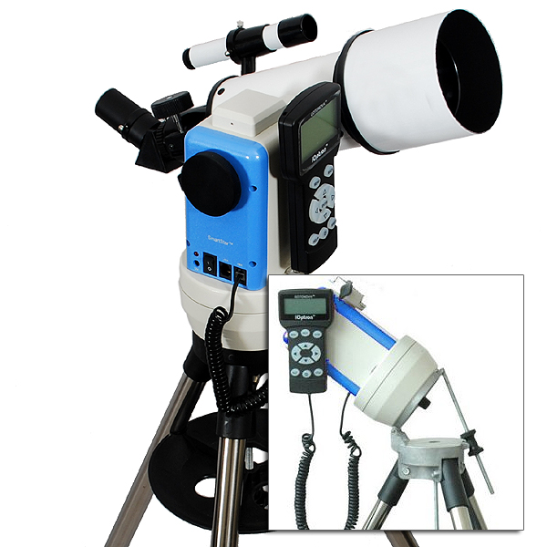 Twinstar 80mm GPS Computerized Refractor Telescope with E...