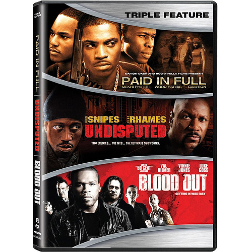 Action Triple Feature: Paid In Full / Undisputed / Blood Out (Widescreen)