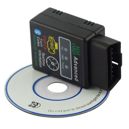 SHOPFIVE OBD2 HH ELM327 V2.1 Bluetooth Car Scanner Android Torque Diagnostic Scan