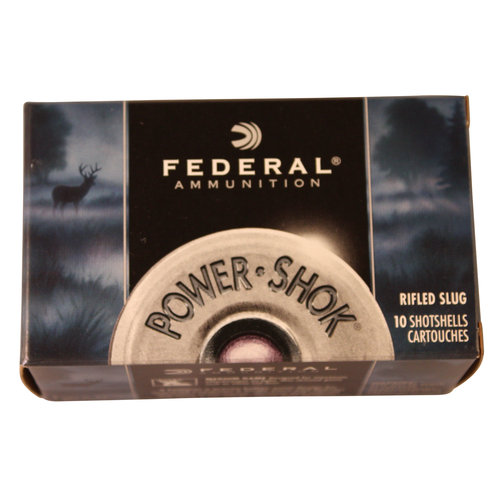Federal Ammunition 12-Gauge Rifled Slug