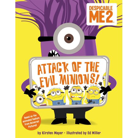 Despicable Me 2: Attack of the Evil Minions! - eBook - Name Of The Minions