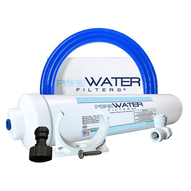 Under Sink Water Filter Install Kit Complete Filtration System For Kitchen And Bathroom Faucets