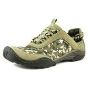Jambu Charger   Round Toe Canvas Gray Walking Shoe