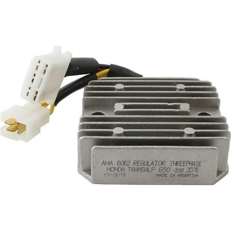 New Voltage Regulator Rectifier 12V for 498cc HONDA VF500F Interceptor 84 85 86 1984 1985 1986 17.2087, 31600-KAB-901, 31600-MF2-008, 31600-MM9-000, SH538A-12 12V
