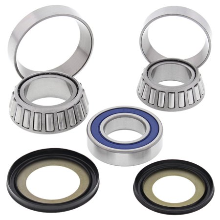 New All Balls Steering Bearing Kit 22-1060 for Victory Cross Country 8 Ball 2015 2016 15 16, Boardwalk 2013 2014 13 14, Cross Country/Cross Roads 2010 2011 2012 2013 10 11 12