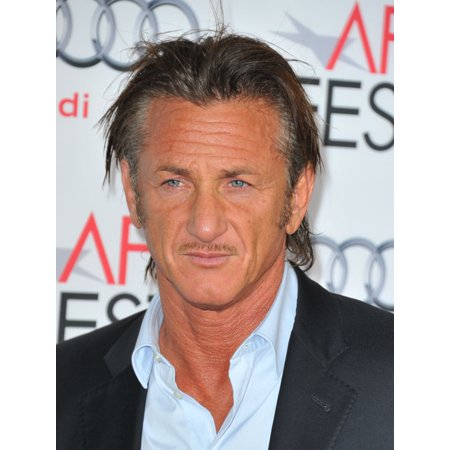 Sean Penn At Arrivals For The Secret Life Of Walter Mitty Premiere At Afi Fest 2013 Presented By Audi