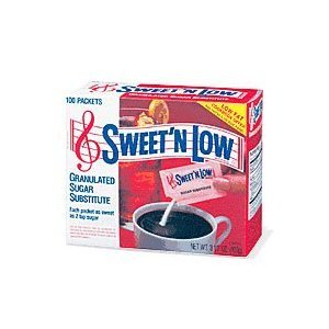 12 PACKS : Sweet N Low Granulated Sugar Substitute Packets 50-Count