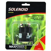 MaxPower 334017 Solenoid for MTD, Murray, Snapper and Other Mowers. Replaces OEM #725-0771, 725-0530, 9924285, 24285, 424285 and More