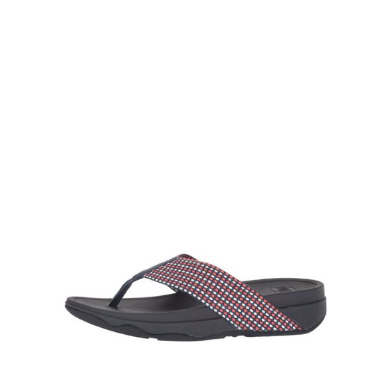 90a3a2997ac FitFlop -  nbsp Fitflop Surfa nbsp Women s T-Strap Wedge Sandal H84 ...