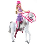 Barbie Doll and Horse by Mattel