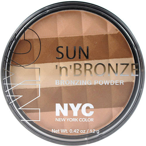 NYC New York Color Sun 'n' Bronze Bronzing Powder, Hampton Radiance