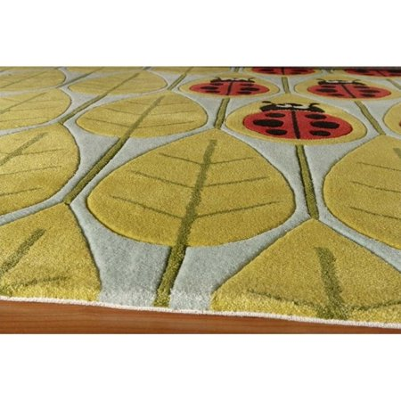 Momeni Lil Mo Whimsy 4' X 6' Rug in Lady Bug Red - image 2 of 2