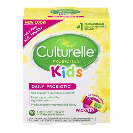Culturelle Probiotics Kids Daily Probiotic Packets - 30
