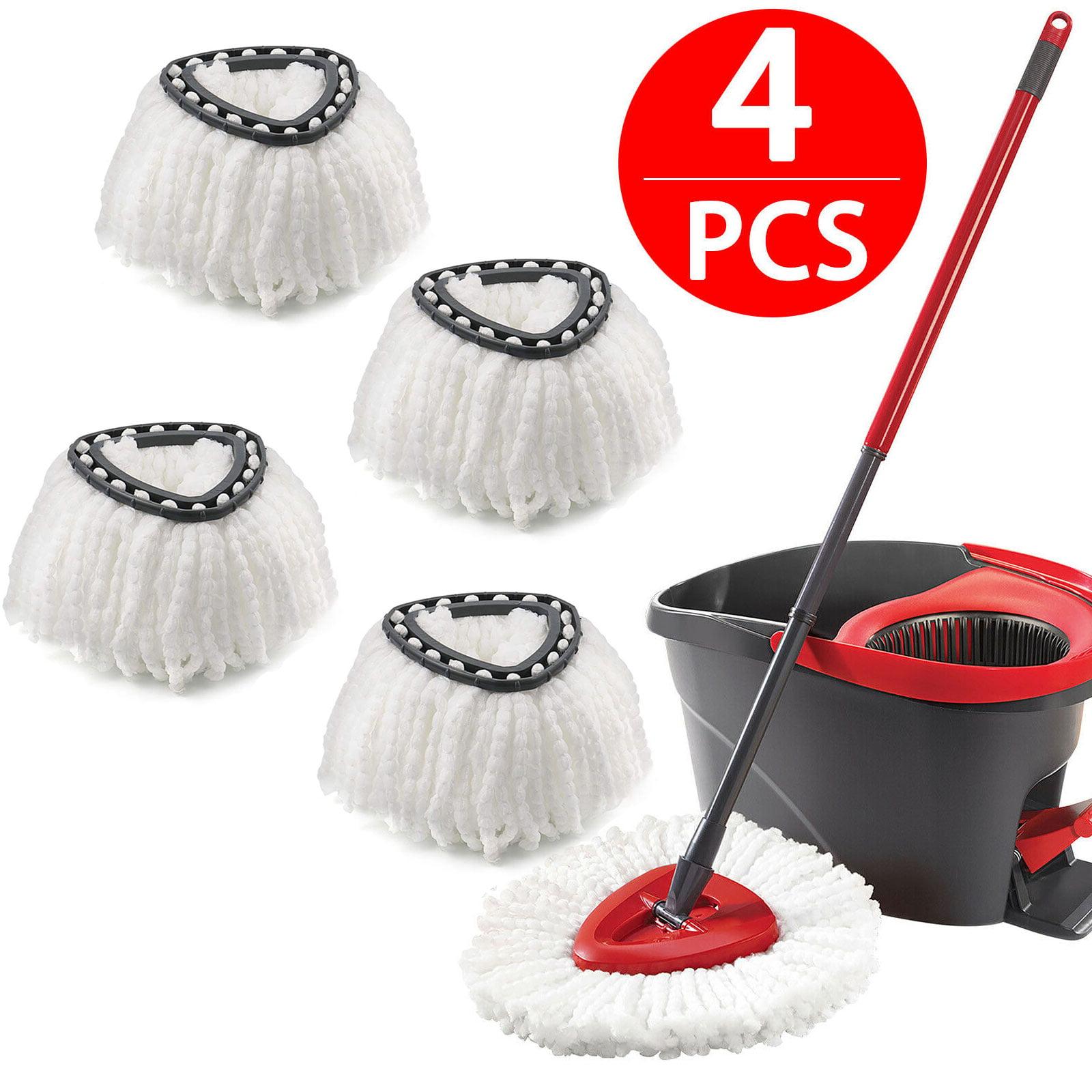 4 Packs Replacement Mop Head for O Cedar Mop Head Replacement Microfibers Mop Head Refill