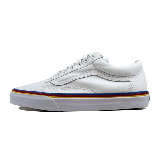 91b7f2fcda33 Vans - Vans Men s Old Skool True White Rainbow Foxing VN0A38G1MWF ...