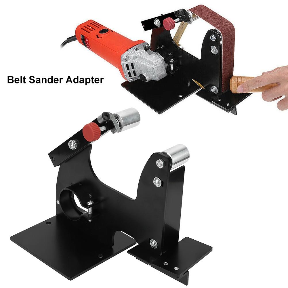 Belt Sander Sanding Belt Adapter Accessories of Sanding Machine Grinding Polishing Machine Change 115//125//150mm Electric Angle Grinder into Belt Sander Sanding Belt Adapter Set