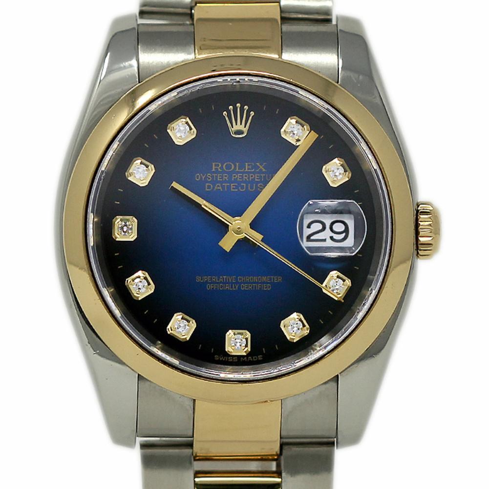 Pre-Owned Rolex Datejust 116203 Steel  Watch (Certified Authentic & Warranty)