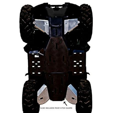 (Yamaha Grizzly 550/700 Aluminum 5 Piece A-arm & CV Boot Guard Set by Ricochet 2007, 2008, 2009, 2010, 2011, 2013 - SPA710A)