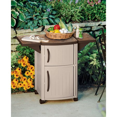 Suncast Patio Cabinet And Prep Station Walmart Com