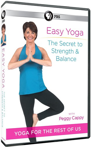 Easy Yoga: Secret to Strength & Balance with Peggy Cappy (DVD) by