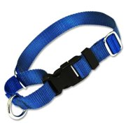 Strapworks QRMC-BL34-XL 0.75 W in. Basic Line Quick Release Martingale Dog Collar - Extra Large