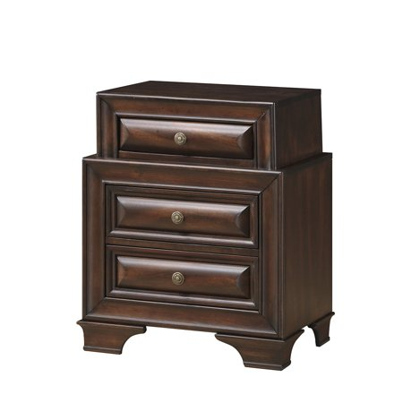 Global Sarina Nightstand Varnish Oak
