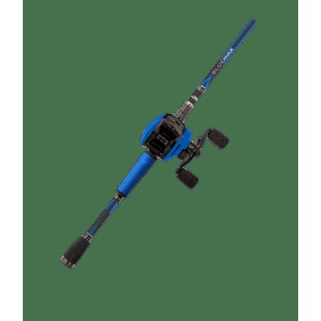 Abu Garcia Blue Max Low Profile Baitcast Reel and Fishing Rod