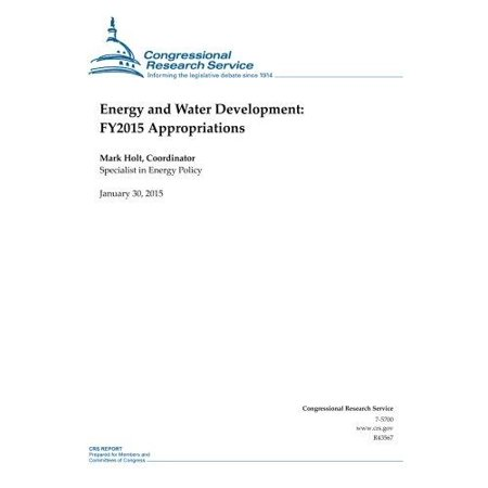 Energy And Water Development  Fy2015 Appropriations