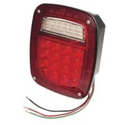 GROTE PERLUX G50825 Tail Light Assembly - LED Hi Count Red Lens