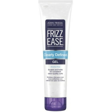 John Frieda Frizz Ease Clearly Defined Style Holding Gel  5 Oz  Pack Of 6