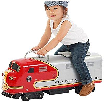 morgan cycle santa fe railroad engine foot to floor ride-...