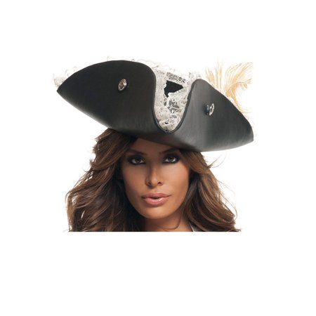 Pirate Hats For Women (Womens Sexy Black Pearl Pirate)