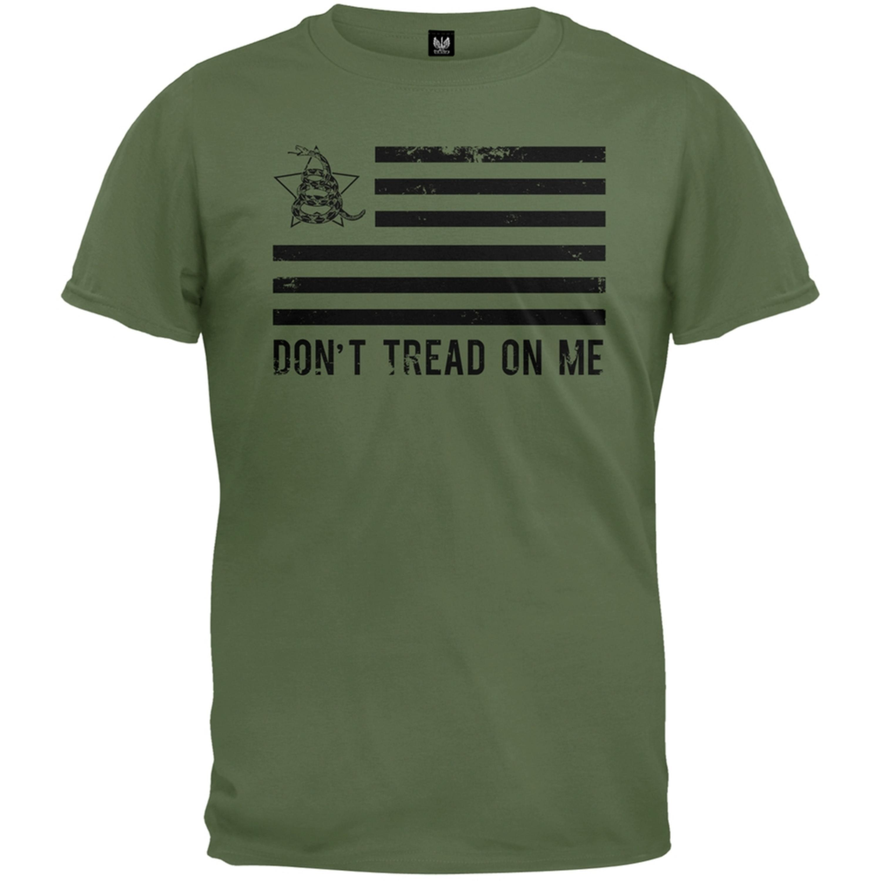 Don't Tread On Me Distressed Flag T-Shirt