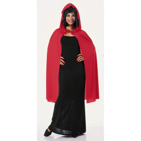 Red Hooded Cape - Halloween Hooded Capes