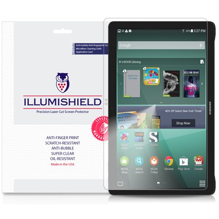 iLLumiShield Screen Protector w Anti-Bubble/Print 1x Samsung Galaxy View