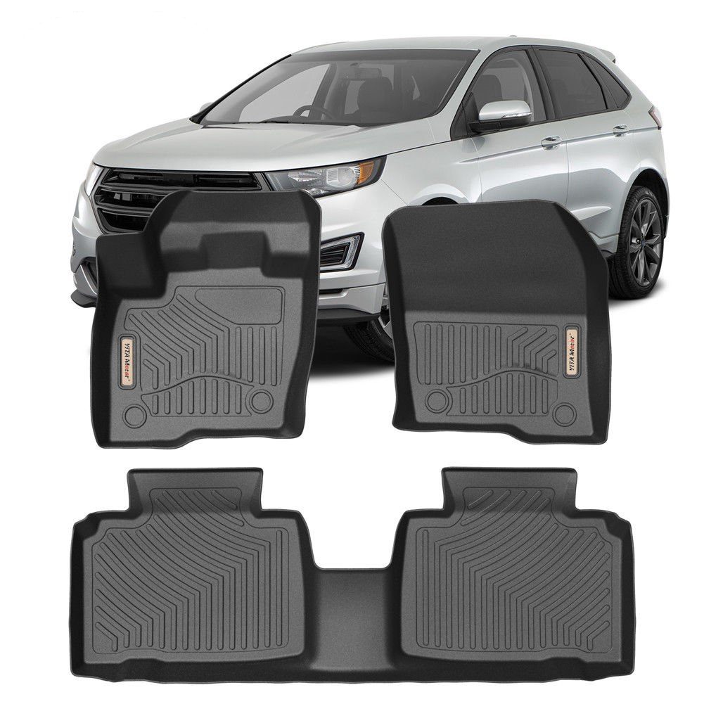 15 on RUBBER CAR BOOT MAT LINER COVER PROTECTOR Ford Edge