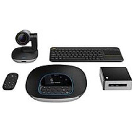 Refurbished Logitech GROUPNUC-KT1 Video Conference Cam Kit With Intel NUC - Intel Core i5-5300U 2.3 GHz - 8 GB RAM - 180 GB Hard Drive - Windows 10 Professional 64-bit - Wireless - HDMI (Wireless Video Conferencing)