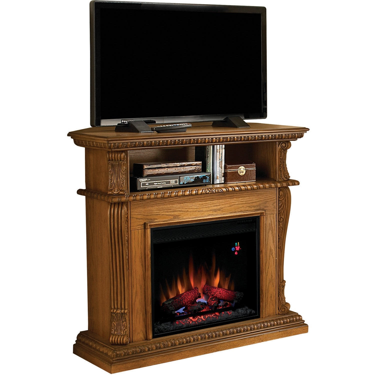 23DE1447-O107 Corinth 23 Electric Fireplace with 100% Ene...