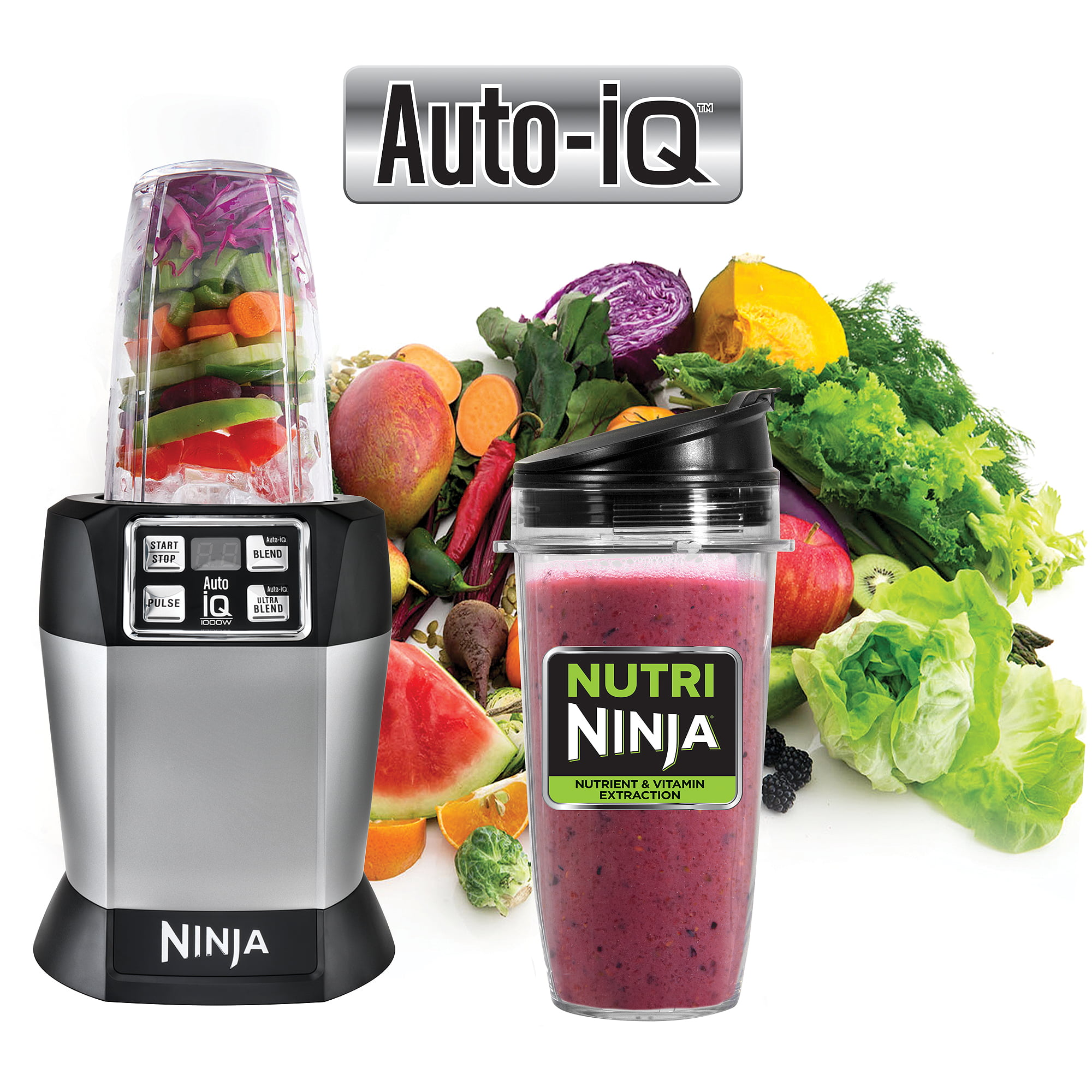 מיוחדים Ninja Nutrient Extraction Single Serve Blender with Auto IQ RF-78