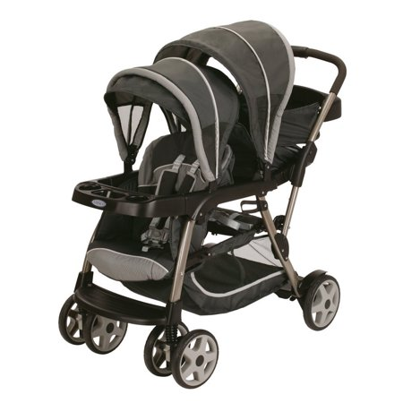 Double Triple Strollers (Graco Ready2Grow Click Connect LX Stroller -)