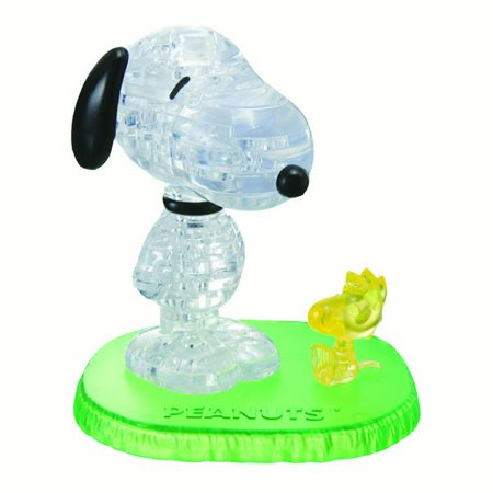Original 3D Crystal Puzzle - Snoopy and Woodstock
