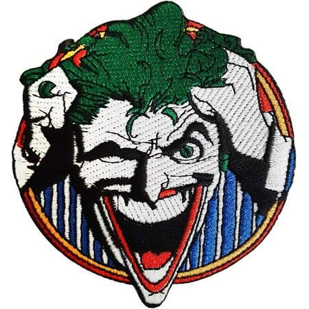 C & D Visionary P-DC-17 Joker Laugh-Patch DC Comics - image 1 of 1