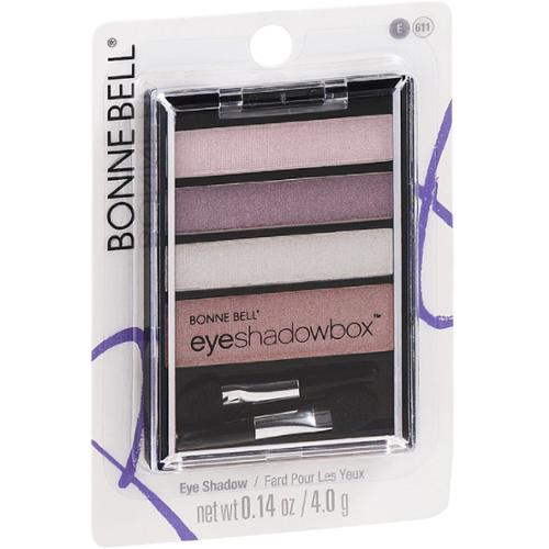 Bonne Bell Eye Style Shadow Box, Girlie Pinks [611] 0.14 oz (Pack of 2)