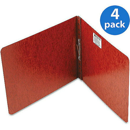 (4 Pack) ACCO Pressboard Report Covers, Top Binding for Letter Size Sheets, 2